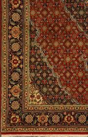 old persian tabriz with a herati design