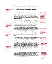 example of an essay narrative essay example for high school political science essays