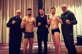 Prokick Belfast: Weigh-in results for Johnny Smith vs. Christos Venizelou -  FIGHTMAG