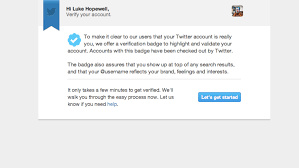 You Inside Process 's Twitter Can How Get Verification Verified w7axH7