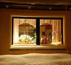 Möglichkeiten Der Fensterbeleuchtung Zur Weihnachtszeit