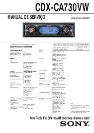 sony cdxca710x wiring diagram wiring diagram and schematic sony cdx m8800 fm am pact disc player manual