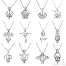 Wholesale Love Wish Pearl Necklace Cages Locket Hollow Out Oyster Pearl  Pendant Necklace Freshwater Pearl Wolf Dog Bear Elephant Stone Pendant  Necklace Popular Pendant Necklaces From Liucaijiao, $0.68| DHgate.Com