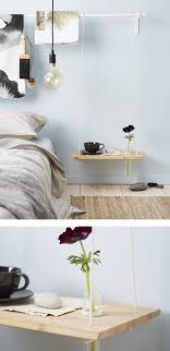 Superior A DIY Hanging Bedside Table Made From A Chopping Board And Rope With A Hole  Drilled