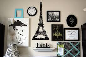 image of paris themed wall decor diy