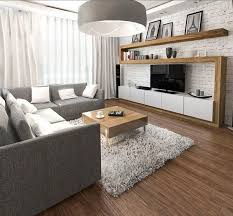 brick living room furniture. fine furniture furnishing ideas living gray sofa tv wall wood white brick and brick living room furniture e