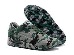 Nike Pattern Shoes Impressive Nike Air Max 48 VT Online Shoes Camouflage Green Mens Designer T