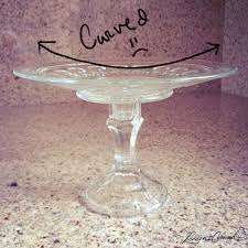 so i never took the plunge into the diy cake stand world until now while i was perusing the shelves searching for stands i noticed a huge stack of what