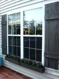 diy window shutters shutters and window box instructions jimmy would have a stroke at the thought