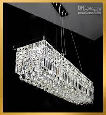 modern crystal pendant lighting. Wholesale Contemporary Clear Rectangular Crystal Pendant Lamp Hanging Chandelier Suspension Light, Free Shipping, $403.04 Modern Lighting