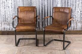 dining room chairs. Stylish Leather Dining Room Chair From Our Large Range Of Vintage Inspired Seating. Also Ideal Chairs
