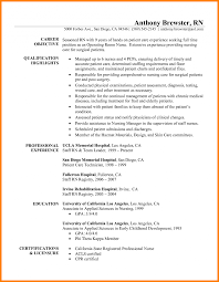 New Graduate Nurse Resume Sample Registered Samples Exeptional Grad