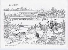 大人の塗り絵江戸名所図会 0353 1桃園無春興