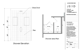 simple bathroom drawing. Interesting Drawing Simple Bathroom Shower Elevation 62 Just With House Decor  And Drawing