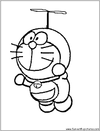 So download these pages for free and let your kids' imagination take a. Doremon Coloring Page