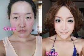 the difference a little a lot of makeup can make is stunning