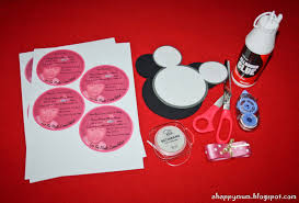 Make Your Own Mickey Mouse Invitations A Happy Mum Singapore Parenting Blog