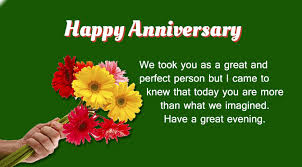happy wedding anniversary message to