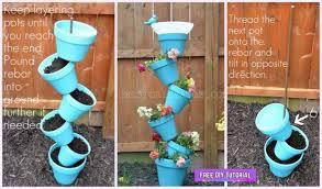 diy vertical garden planter birds