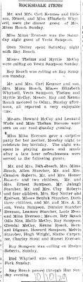 Daniels Run News - The Calhoun Chronicle