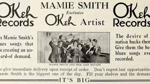 In 1920 Mamie Smith's Crazy Blues paved the way for Black Music – The  Syncopated Times