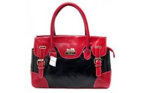 Coach East West Large Red Satchels BXF