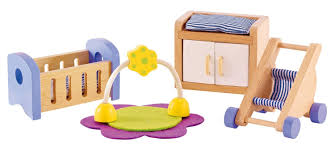 dollhouse furniture cheap. Hape - Gender-neutral Wooden Doll House Furniture Bundle. Set Dollhouse Cheap D