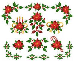 Poinsettia Designs 4 Hobby Com Machine Embroidery Designs Free Christmas