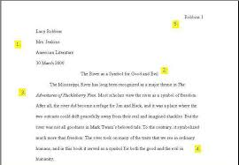 mla style essay date