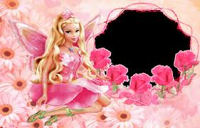 free hd barbie doll with pink dress wallpaper