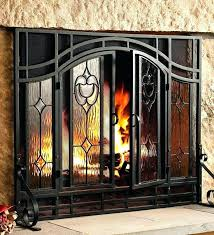 outdoor fireplace screens large fireplaces unlimited stone