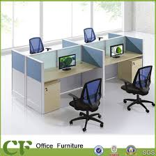 office cubicle design. Classic Design Wooden Office Cubicle For 4 Person