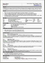 Single Page Resume Template Amazing One Page Resume Templ On Creative Resume Templates One Page Resume