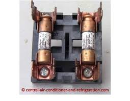 central air conditioner fuse fuses holder