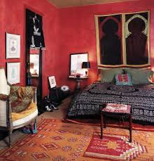 Moroccan Living Room Decor Living Room Cute Bedroom Middle Red Moroccan Style And Bohemian