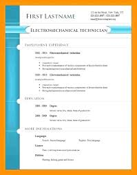 Download Cv Format Pdf Free Cv Template Pdf French Resume Example Administrative