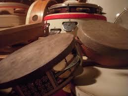 world pla on frame drums