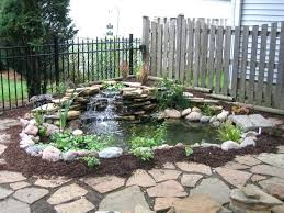 backyard ponds with waterfalls home design ideas about pond waterfall backyard ponds makeovers medium size deluxe diy backyard waterfall pond kit backyard