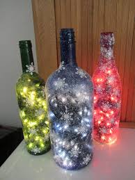 Decorating Empty Wine Bottles 100 Homemade Wine Bottle Crafts Christmas wine bottles 42