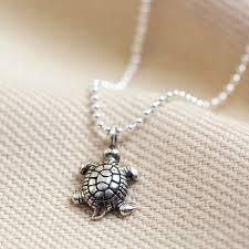 sterling silver vintage style turtle