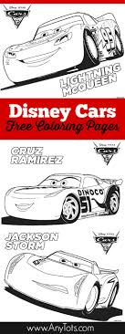 Small Picture Free Printable Disney Cars Coloring Pages Lightning McQueen
