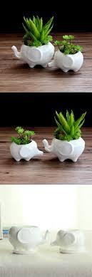 [Visit to Buy] Ceramic pots ultra-Q small white porcelain animals like mini