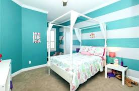 Striped Wall Bedroom Teal And White Striped Wall Bedroom Design With Four  Post Bed Grey And . Striped Wall ...