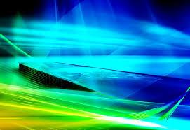 windows vista blue green image