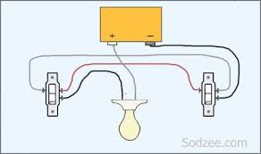 simple home electrical wiring diagrams sodzee com and three way 3- Way Switch Wiring simple home electrical wiring diagrams sodzee com and three way switch diagram