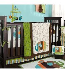 incredible elephants 4 piece crib bedding set elephant decor burlington coat factory