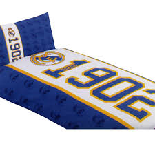 real madrid fc single duvet set es