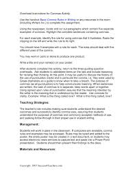 Commas Commas Everywhere Success4teachers Pages 1 3