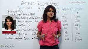 Active And Passive Voice With Rules And Examples Basic Rules Of English Grammar Lesson