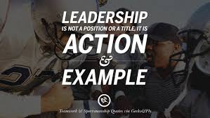 Quotes About Leadership And Teamwork Magnificent 48 Inspirational Quotes About Teamwork And Sportsmanship